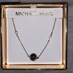 Gold Michael Kors necklace